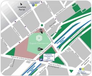 Espace Champerret - Paris 17ème