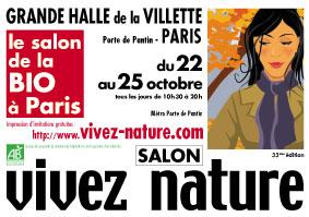 Salon bio vivez nature paris for Salon bio paris