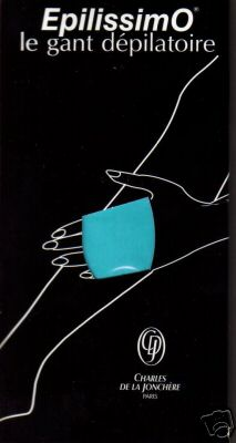 gant d'épilatoire EPILISSIMO
