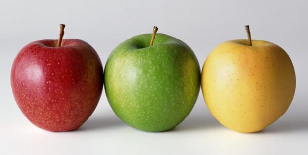 pomme aliment coupe faim