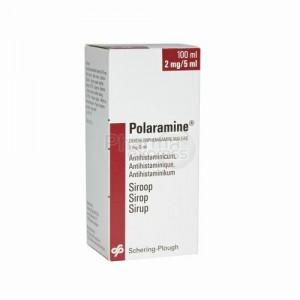 la Polaramine contiendrait des parabènes