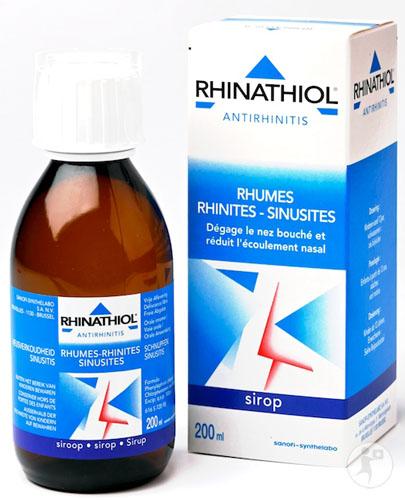 le Rhinathiol contiendrait des parabènes