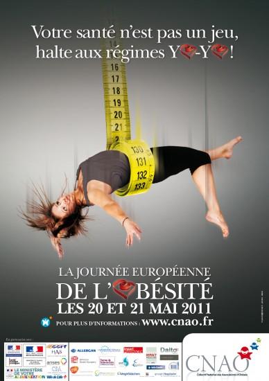 journée européenne de l'obésité : 20 et 21 mai 2011