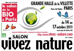 Salon bio et nature paris for Salon vivez nature