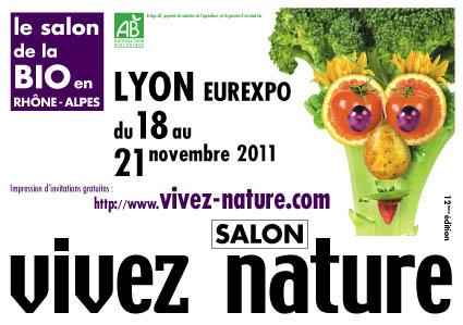 Salon vivez nature lyon eurexpo 2011 eva santiago for Salon eurexpo lyon