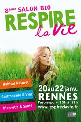 Respirez la vie rennes for Salon bien etre rennes
