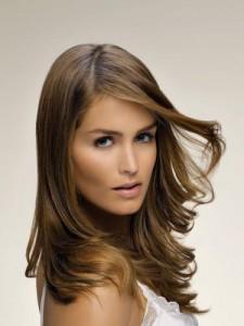 Couleur de cheveux brun chocolat