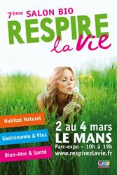 Salon Bio et Bien Etre : Respirez la Vie - Le Mans