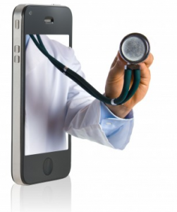 Applications santé sur iPhone et Android