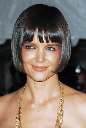 coiffure carre court avec frange