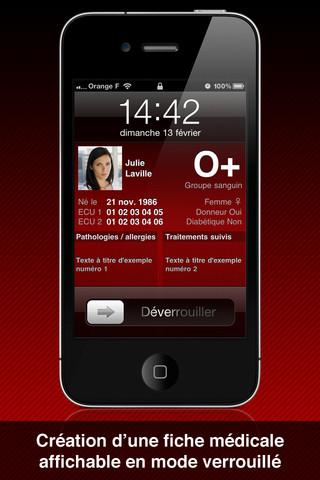 applications sant sur iphone et android bien tre beaut et forme. Black Bedroom Furniture Sets. Home Design Ideas