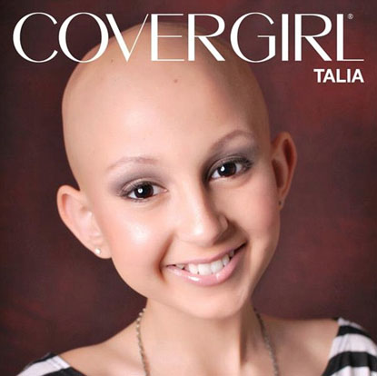 Talia Joy Castellano pour Cover Girl