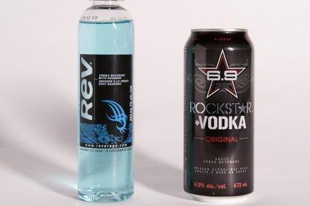 Boissons énergisantes et alcool danger