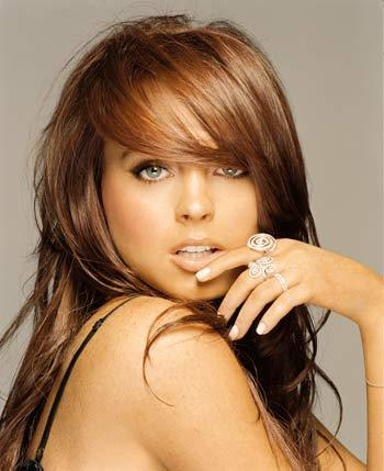 Lindsay Lohan Red Hair Color