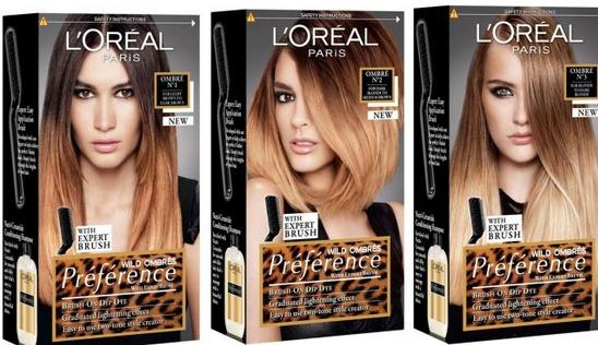 Kit coloration ombré hair