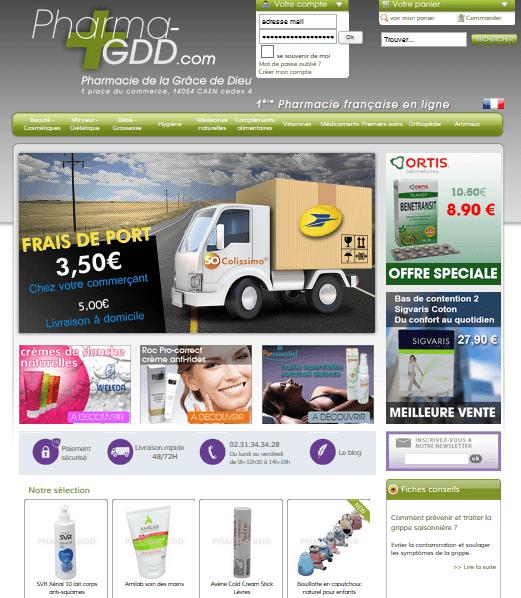 pharmacie en ligne GDD