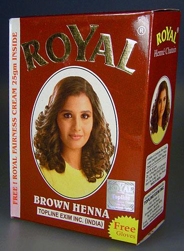 produits Royal Henna dangereux