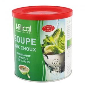 Detox : soupe aux choux Milical