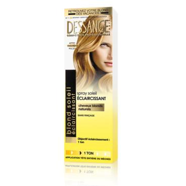 spray soleil claircissant dessange - Eclaircissant Sur Cheveux Colors